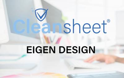 Cleansheet Eigen Design